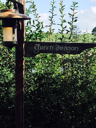 This way to the green dragon
