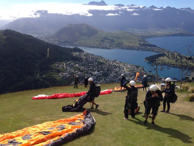 Paraglide Queenstown