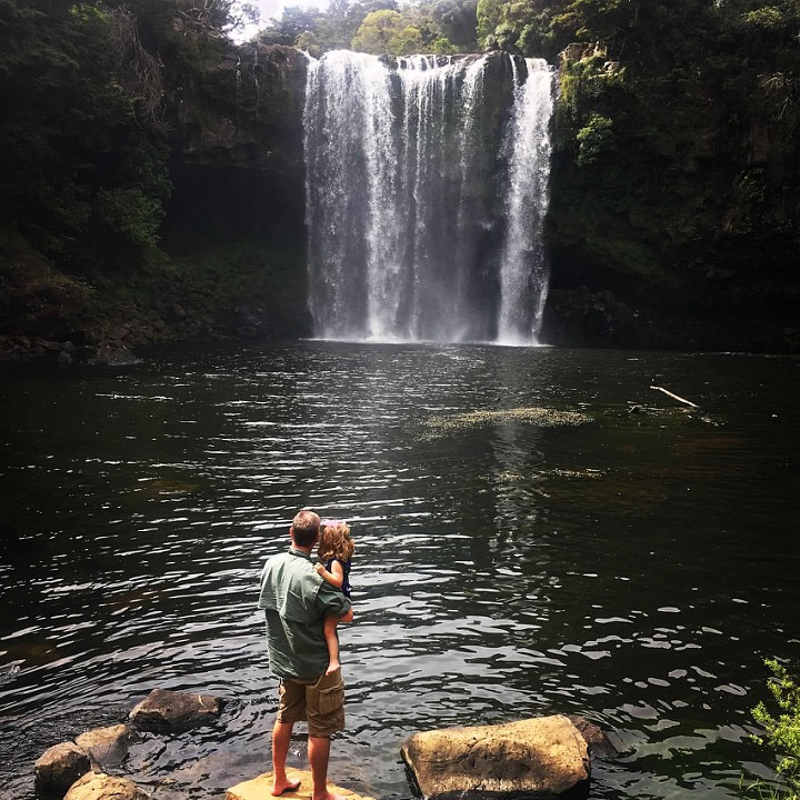 Rainbow Falls, New Zealand