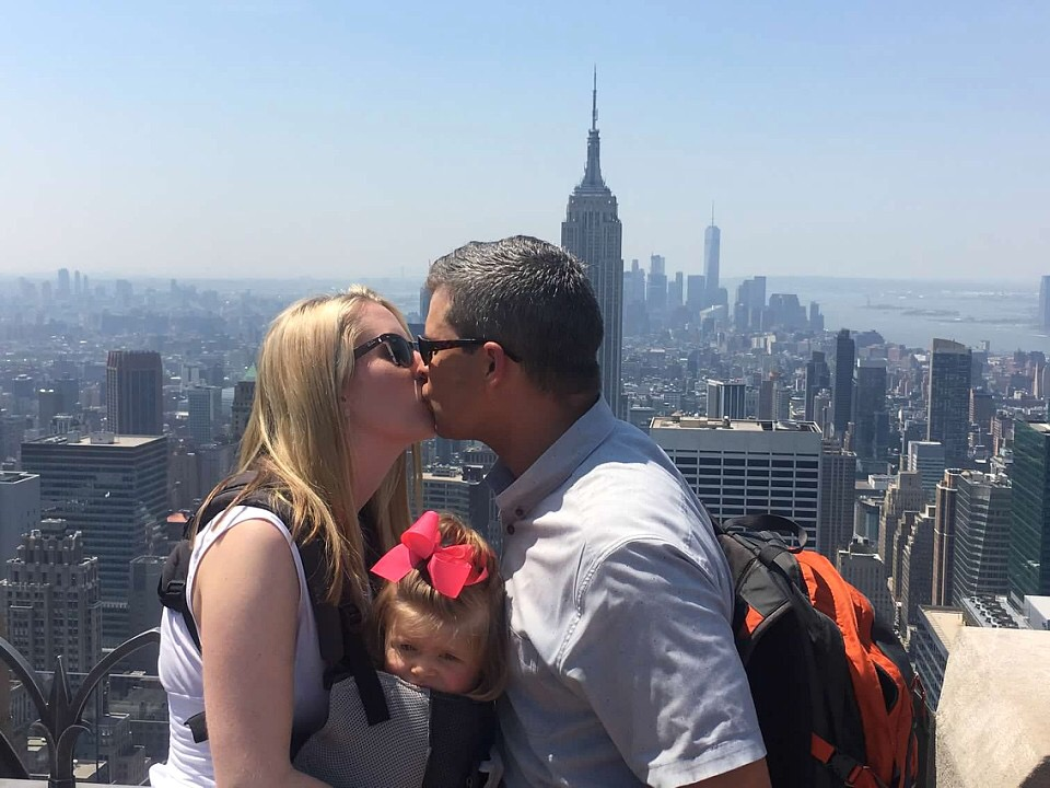 Kissing Top of the Rock