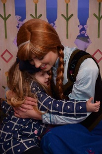 Meeting Anna a second time!