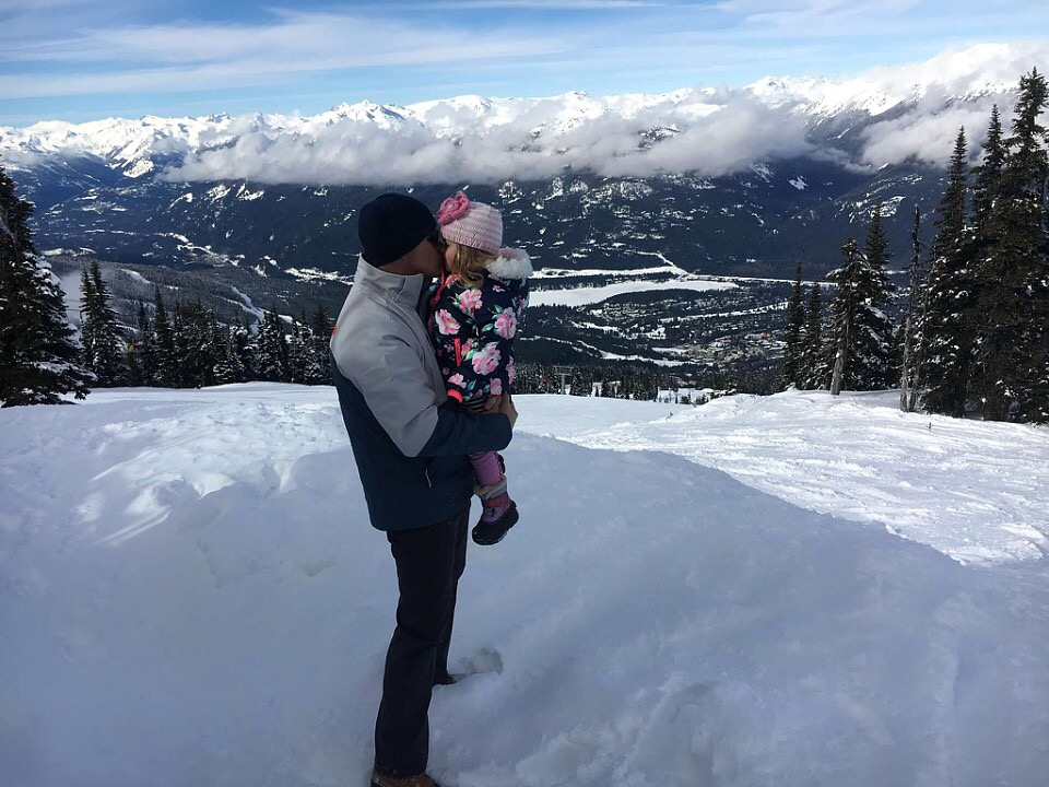 Kissing Top of the Whistler
