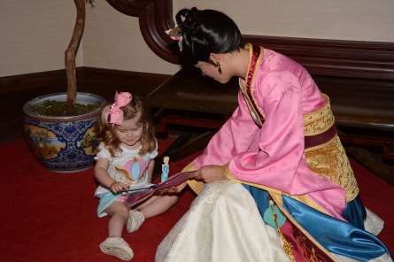 Meeting Mulan in China