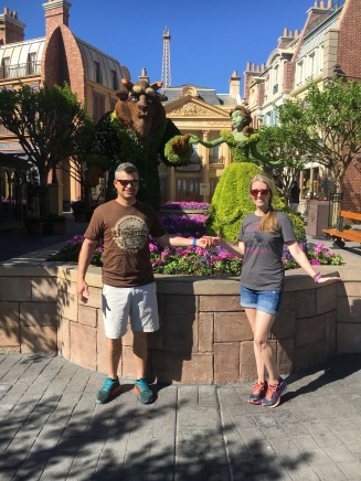 Beauty & The Beast Topiary