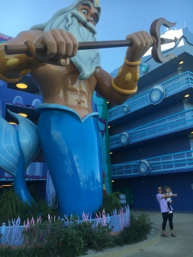 King Triton, Little Mermaid Section