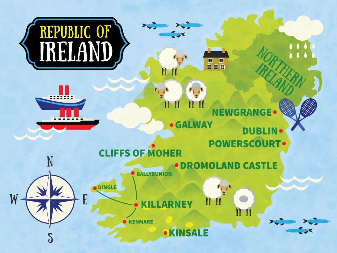 Best 2 week Itinerary thru Ireland with kids