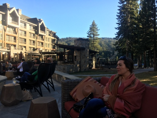 My beautiful cousin, Ritz Carlton Northstar