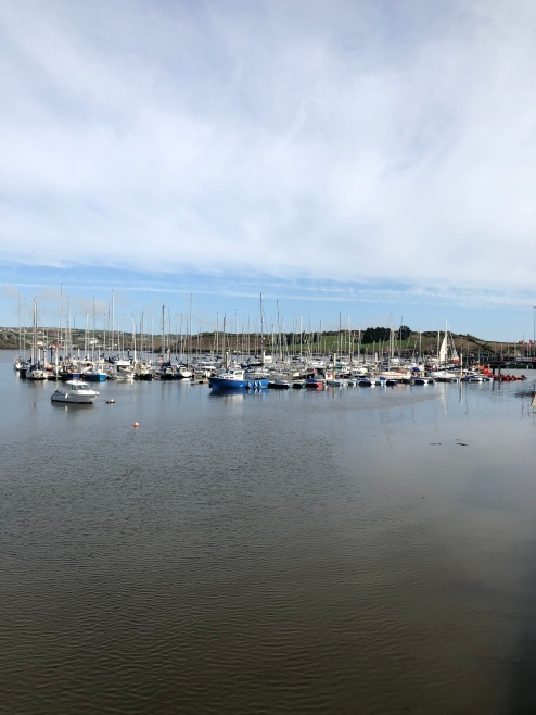 Sailboats in Kinsale