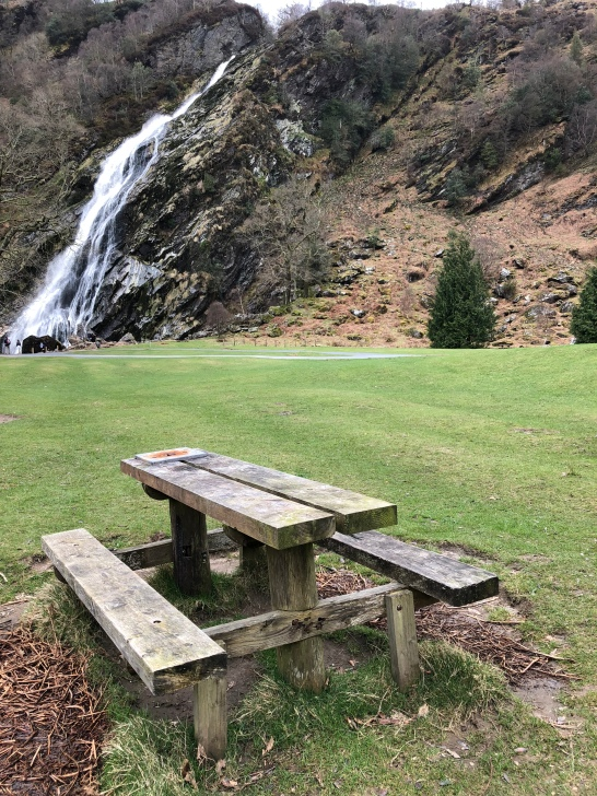 Picnic Powerscourt Waterfall