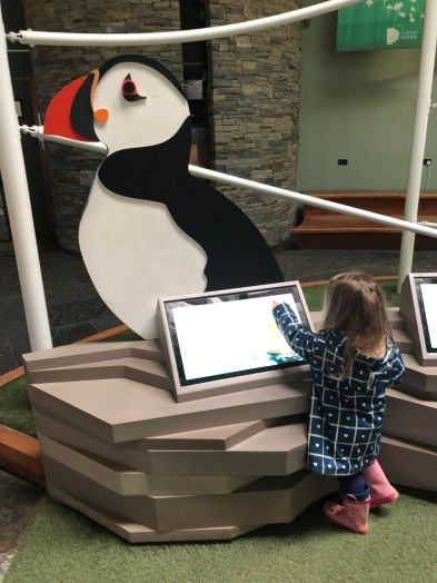 Visitor Center Interactive Kids Area