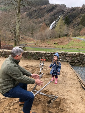 Playground Powerscourt Waterfall