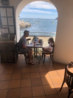 Dining on the Promenade, Calella de Palafrugell